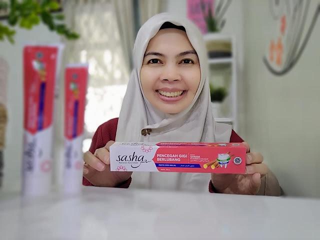 sasha pencegah gigi berlubang