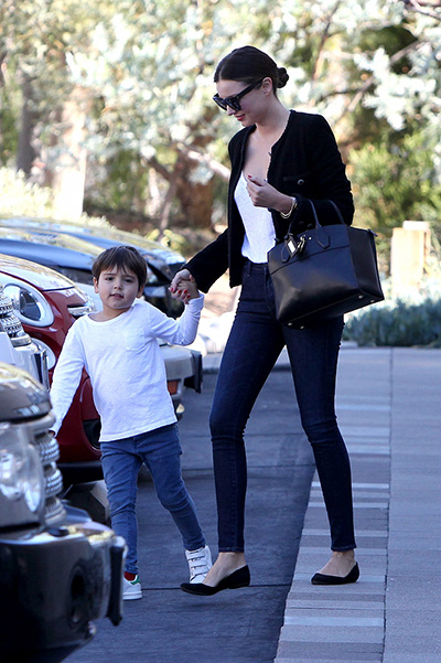 Miranda Kerr with his son Flynn