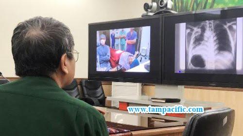 Chuyển giao công nghệ hội chẩn trực tuyến tới bệnh viện Campuchia