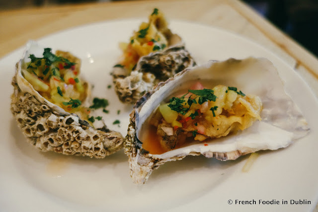 Fried oysters - Fish Shop Dublin - French Foodie in Dublin