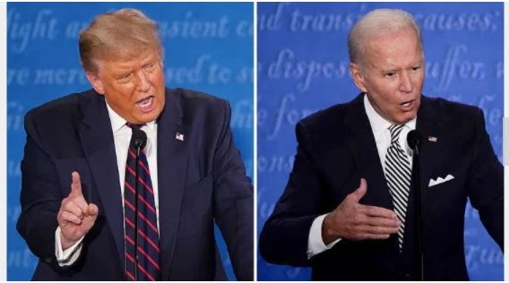 The Debt Commission canceled the Trump Biden debate on October 15