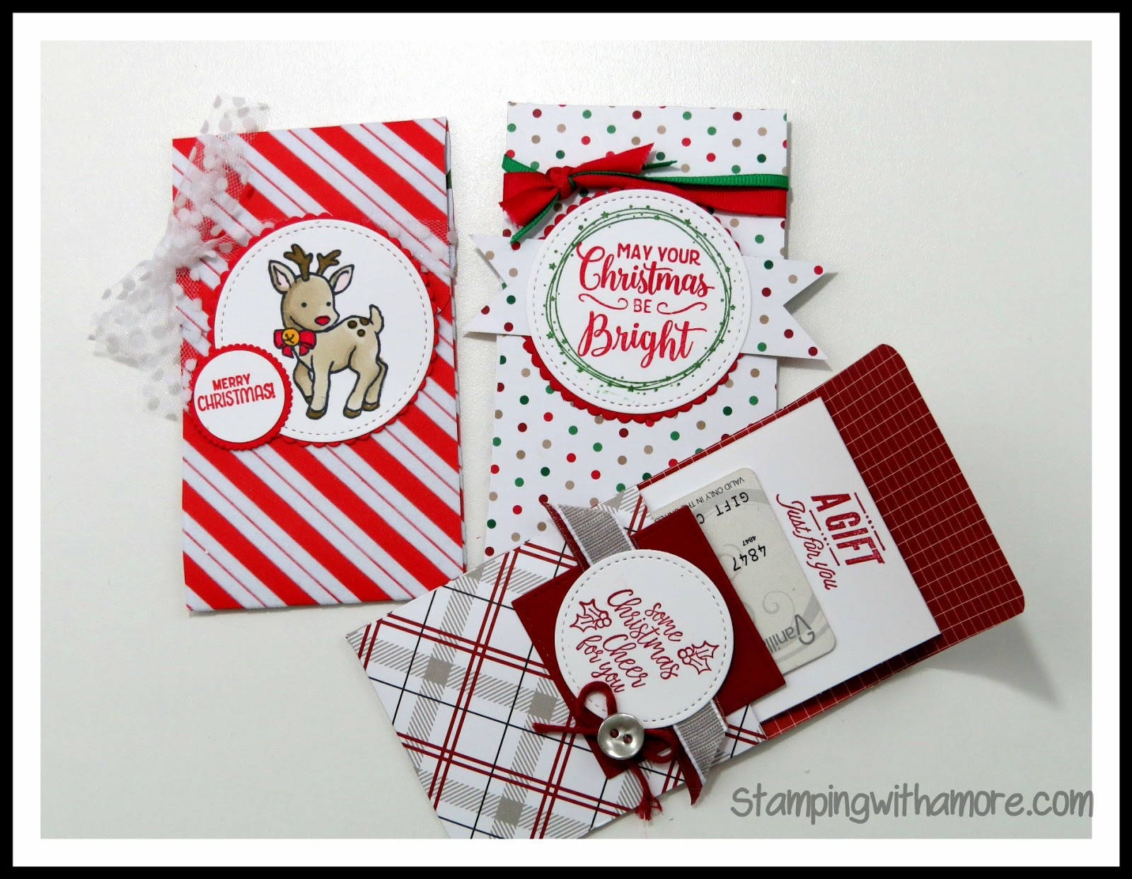 Stampingwithamore: TECHNIQUE TUESDAY PULL-OUT GIFT CARD HOLDER