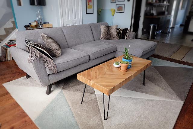 table living room joybird online retailer order review
