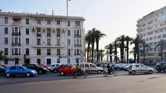 Изображение авеню Des Far в Касабланке, Марокко