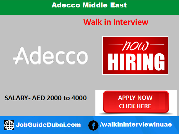 Adecco Middle East career for call center telesales executive jobs in Dubai UAE