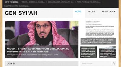 Karena Jelaskan kesesatan Syiah, situs milik ustadz yang taat Ulil Amri pun diblokir