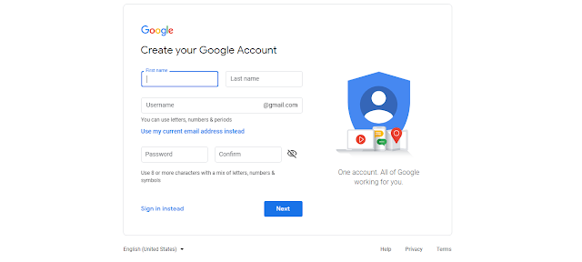 how to create gmail account 2019 googleinputtools