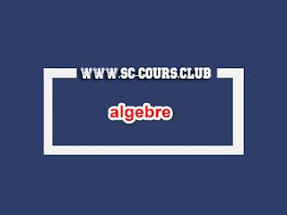 Cours d'algebre smi s4 pdf