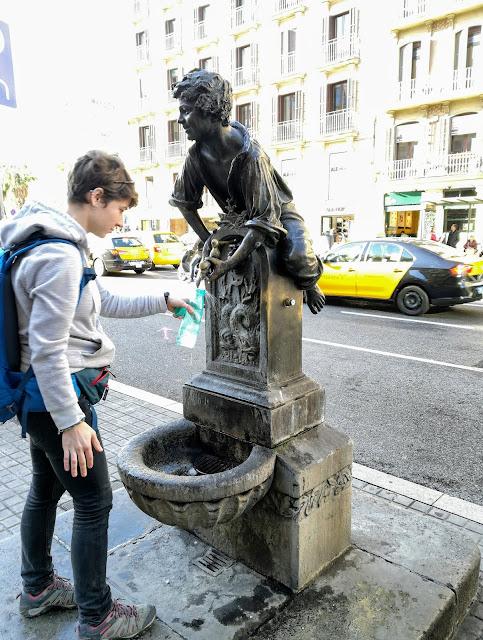 Punkt nabierania wody