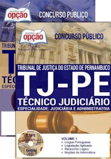 Apostila TJPE 2017 Técnico Judiciário