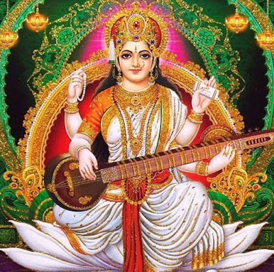 Picture Of Lord Saraswati