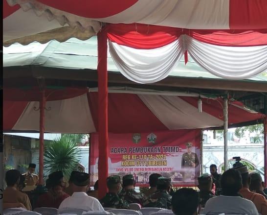 Muzakkar Agani : Bupati Bireuen Buka Acara TMMD Reg Ke-110 Tahun 2020 Di Pendopo