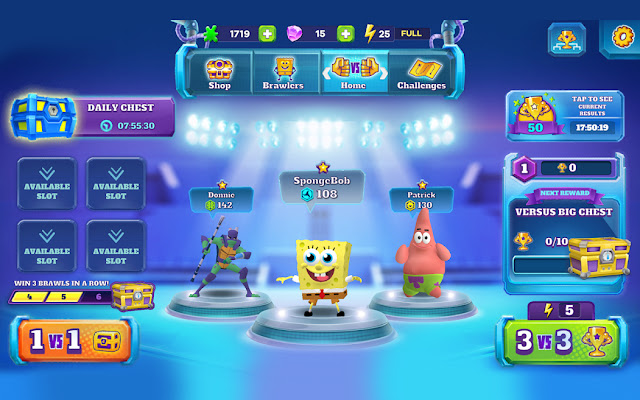 Super Brawl Universe Nickelodeon