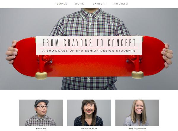 CRAYONS TO CONCEPT - Desain Web Keren