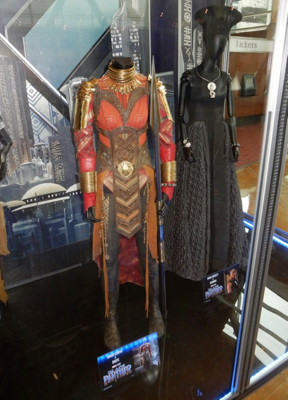 Okoye Ramonda Black Panther film costumes