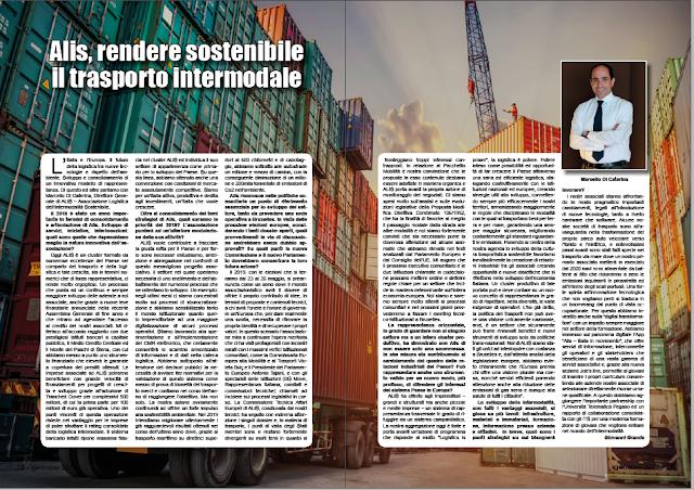 GENNAIO 2019 PAG. 24 - Alis, rendere sostenibile il trasporto intermodale