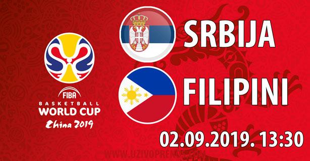 Srbija - Filipini UŽIVO PRENOS
