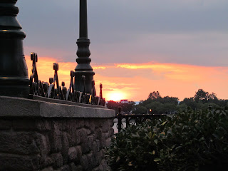 Sunset in Orlando Florida Epcot