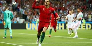 Christiano Ronaldo Hat Trick Earn Portugal A Point Against Spain