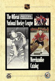 Official NHL Merchandise Catalog 1990-91