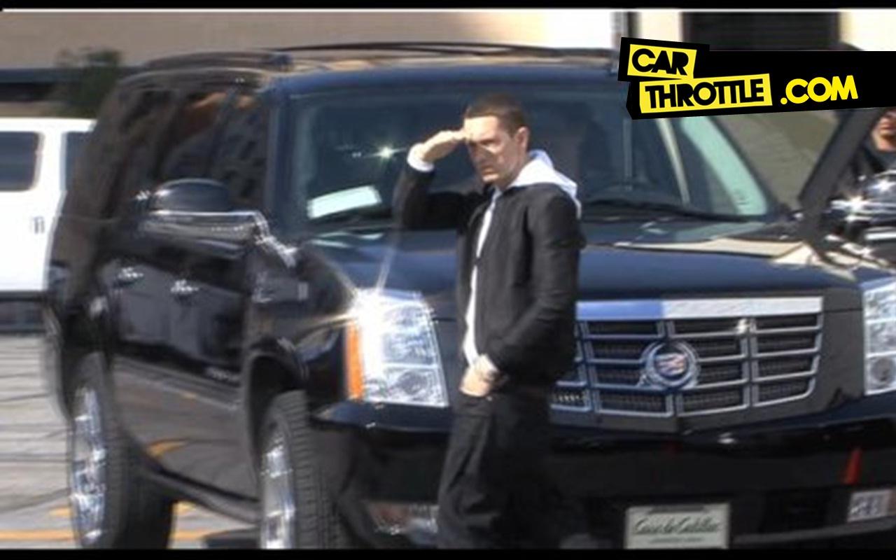The Cars Drive Lyrics: Eminem