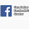 Cara Daftar Facebook Gaming Creator