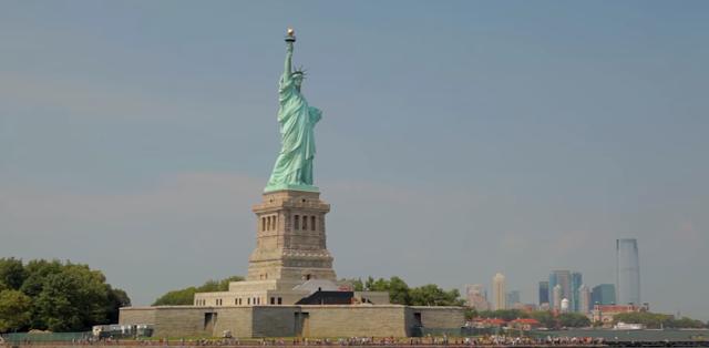 The Statue of Liberty, Tourist Spot, Liberty Island, New York