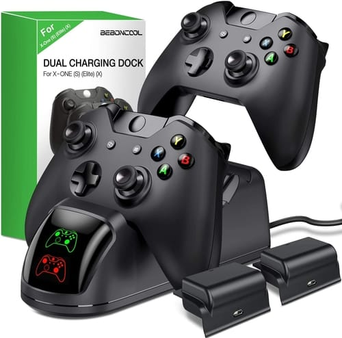 BEBONCOOL Controller Charger Station for Xbox One
