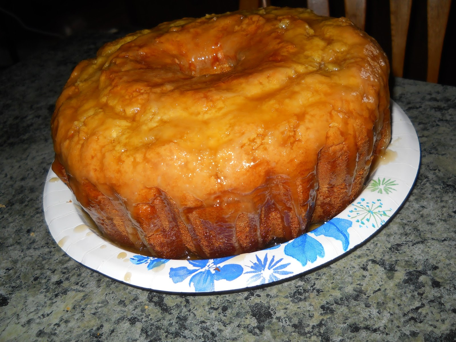 Butter Rum Glaze For Pound Cake