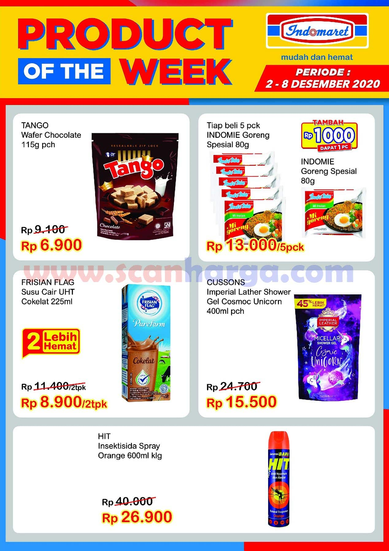 Indomaret Product Of The Week Promo PTW 2 - 8 Desember 2020