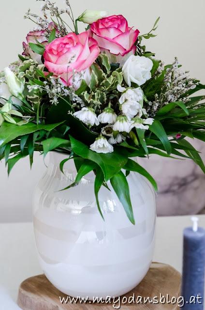Blumenstrauß in der Vase