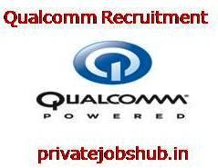 Qualcomm Recruitment