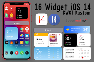 Cara Memasang Widget iOS 14 di Android Keren!
