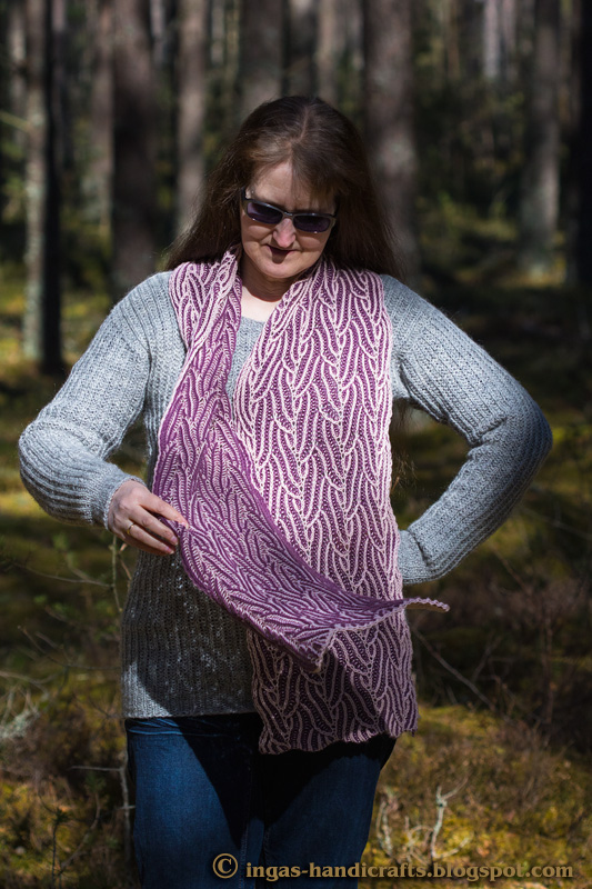 Mr. Flood´s Brioche Scarf