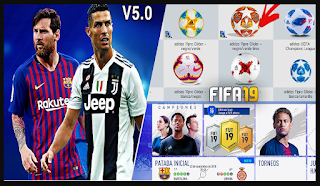 Download FIFA 14 Mod FIFA 19 v5 by Fabix7