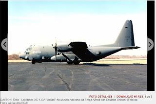O AC-130A Specter é um C-130 convertido em uma aeronave