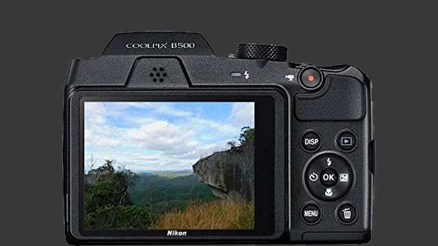 Nikon Coolpix B500 16MP Point and Shoot Digital Camera with 40x Optical Zoom