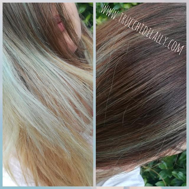 Risultato decolorazione Bleach L'Oréal