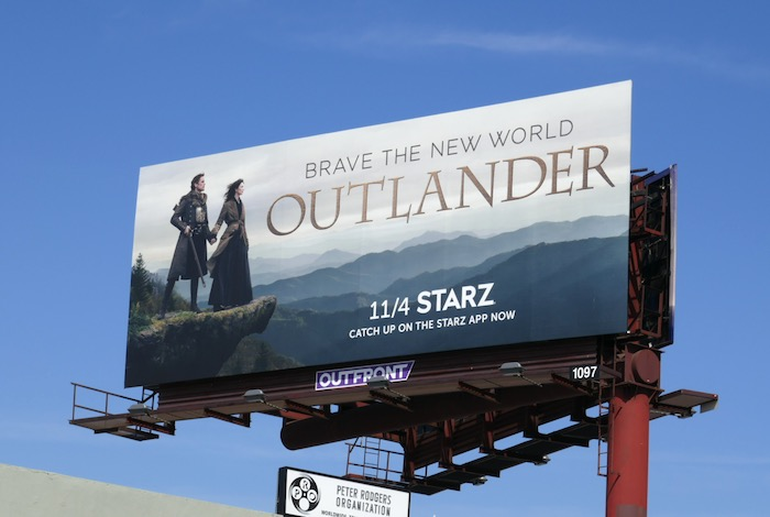 Outlander season 4 billboard