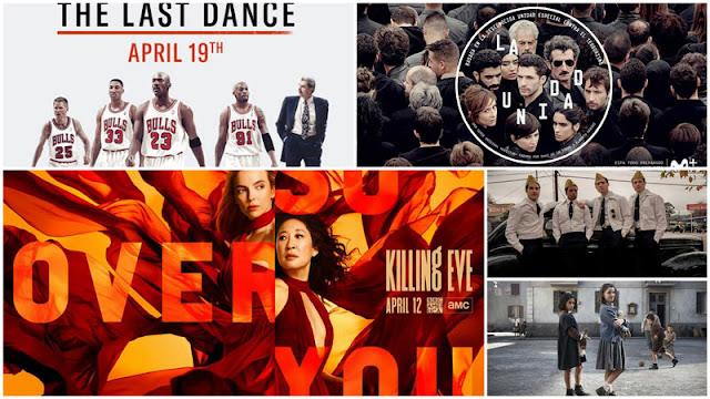 'Killing Eve' temporada 3, 'The Last Dance' Michael Jordan, 'La amiga estupenda', 'La Unidad' de Movistar+