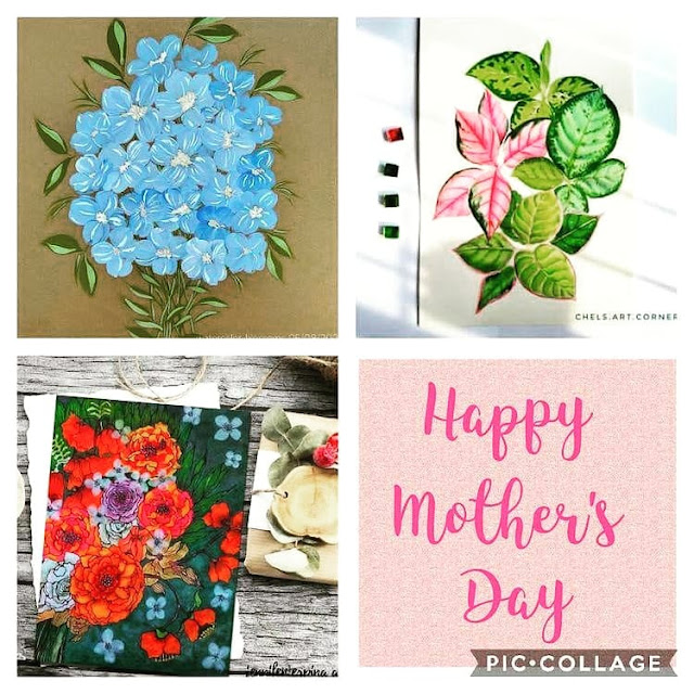 A Happy Mother's Day Collaboration: 19 Beautiful Floral Watercolor Artworks