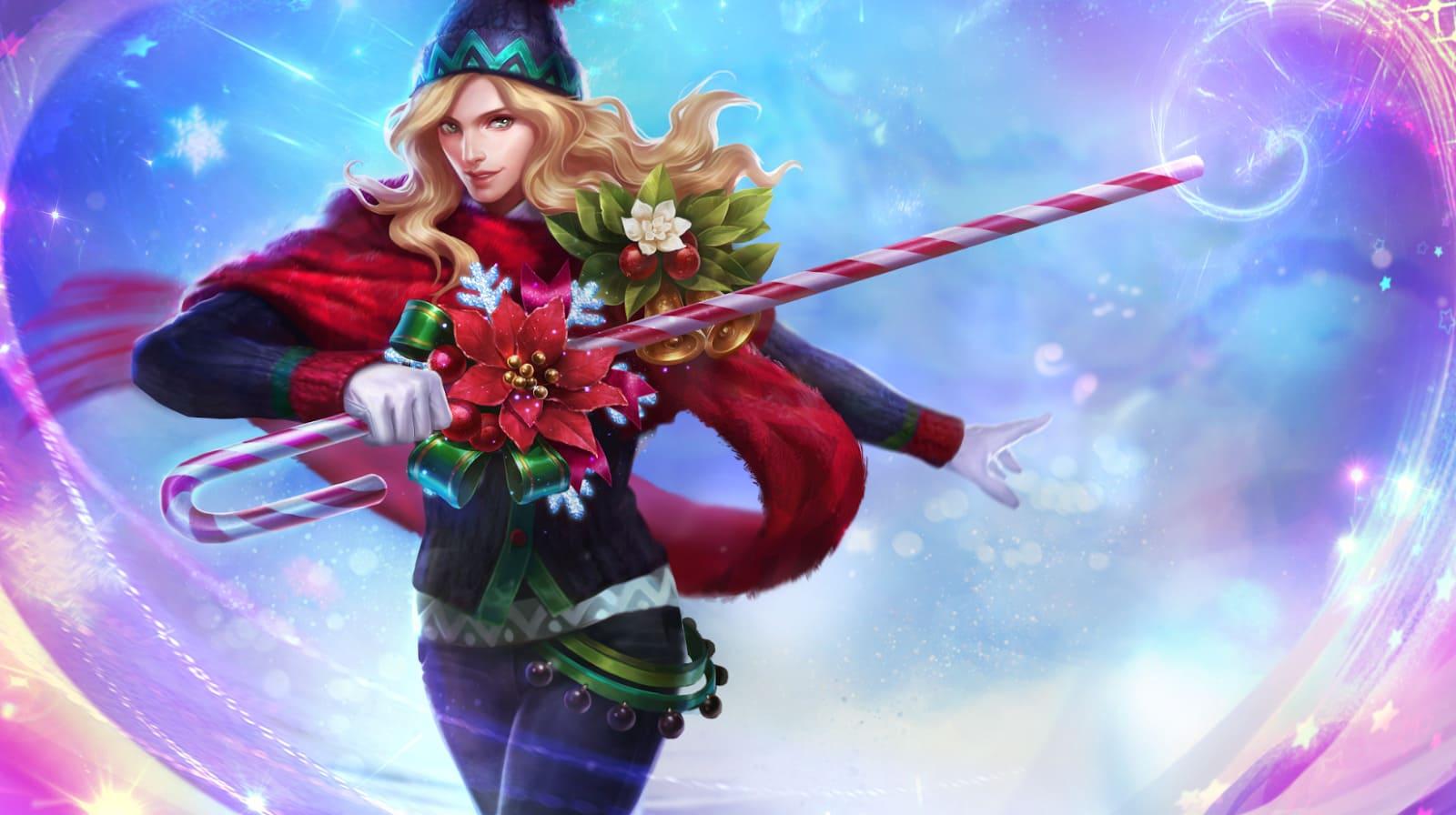 Wallpaper Lancelot Christmas Carnival Skin Mobile Legends HD for PC