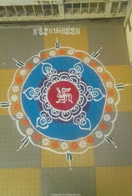 Multi Circle Rangolis