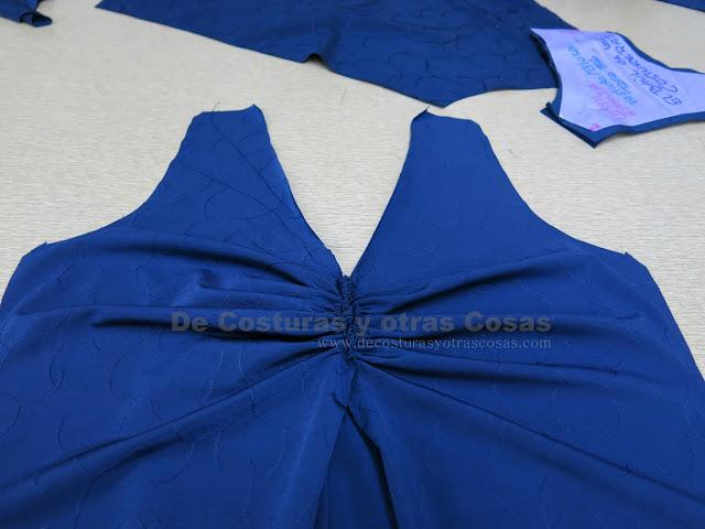 como hacer una blusa drapeada