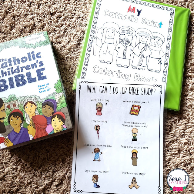 Bible study time for kids