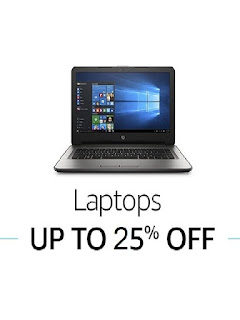Amazon ( Great Indian Festival ) Offer  Get upto 30% off on Laptops