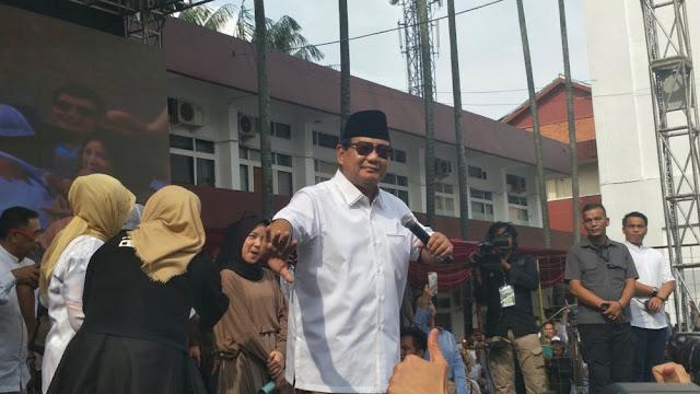Prabowo: Jika Terpilih, Saya Akan Cari Semua Bukti Korupsi dan Saya Kejar Koruptornya