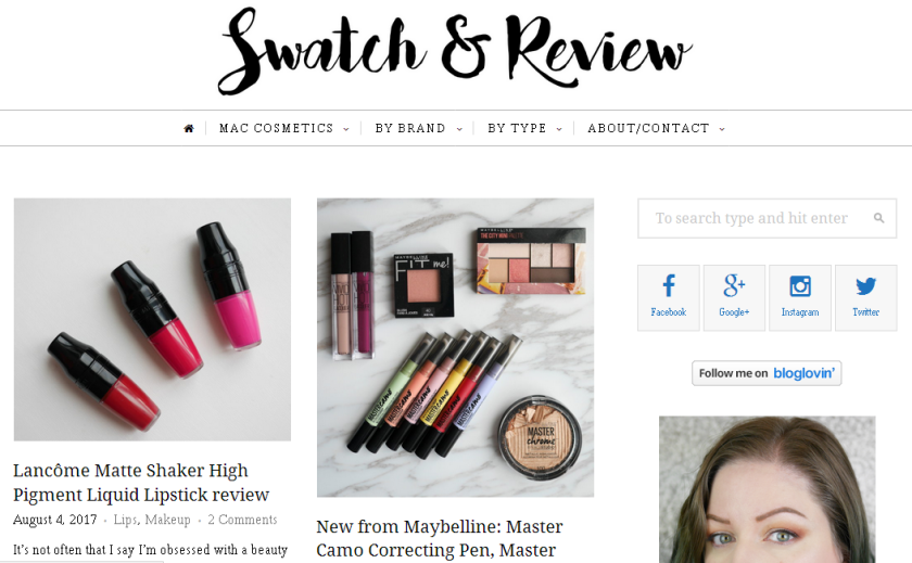 bbloggers, bbloggersca, canadian beauty bloggers, beauty blog, beauty blogger, featured blogger, featured blog, blog of the month, swatch and review, swatch & review
