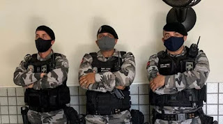 Polícia Militar prende casal suspeito de furto em Pirpirituba