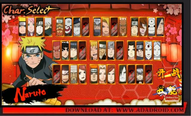 Download Naruto Senki Hokage Mod Apk
